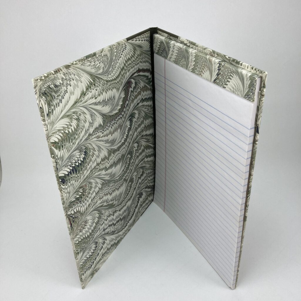 book-binding-note-pad-green