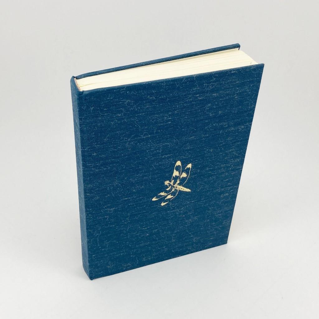 book-binding-journal-blue-linen